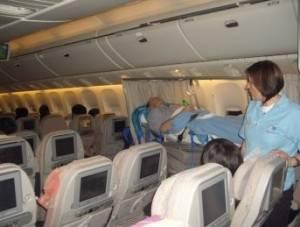 Greek air ambulance network repatriation services